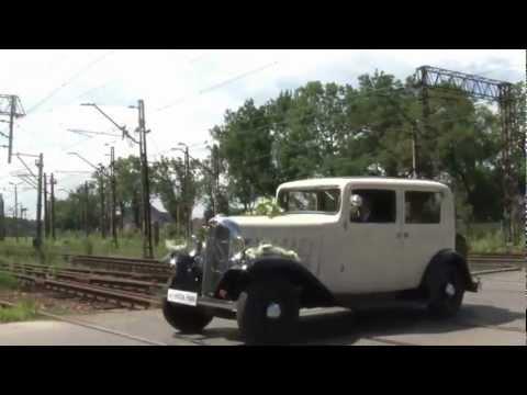 Wynajem Samochodów Zabytkowych auto do ślubu - film 1
