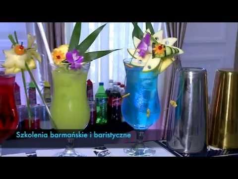 DRINK BAR/BARMAN Blue Fire Drink Bar na wesele - film 1