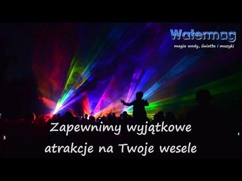 Watermag - tańcząca fontanna, pokaz laserowy i film na ekranie wodnym - film 1