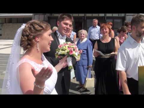 KAMERZYSTA na wesele, FILMOWANIE wesela - film 1