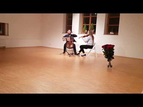 Tylko duet? ASZ DUET! - skrzypce + wiolonczela = zespół na Wasz ślub! - film 1