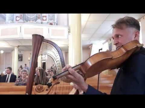 Najpiękniejsza muzyka na ślub-skrzypce,harfa,wokalistka,kwartet,organy - film 1