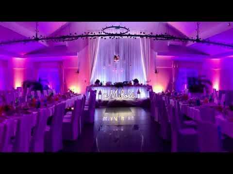 WedLed - dekoracje świetlne, napis Miłość, LOVE, ciężki dym - film 1