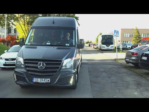 Transport.Bus Autokar, przewóz gości, busy autokary na ślub wesele. - film 1
