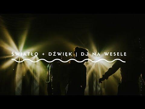 Światło + Dźwięk | DJ na Wesele w stylu Boho, Rustykalny| Slow Wedding - film 1