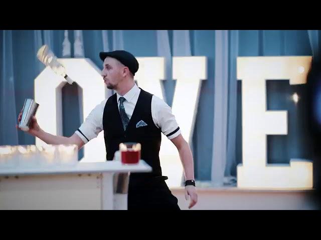 Barman na Wesele, Drink Bar, Mobilni Barmani, Pokaz Barmański, Barmani - film 1